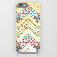 iPhone & iPod Case featuring Country Days Zig Zag by Patricia Shea Designs