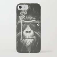 monkey iPhone & iPod Cases featuring Smoke 'Em If You Got 'Em by Dr. Lukas Brezak