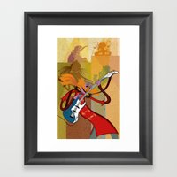 Floyd Pepper And The Ele… Framed Art Print