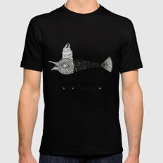 Consume the body Mens Fitted Tee Black SMALL