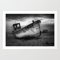 The Trawler Art Print