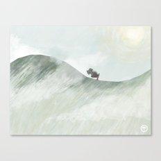 Trek Canvas Print