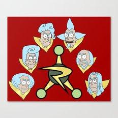 Council Of Ricks Canvas Print