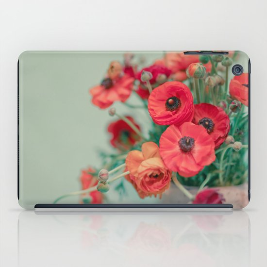 Spring Poppies iPad Case