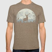 King Of The Forest Mens Fitted Tee Tri-Coffee SMALL
