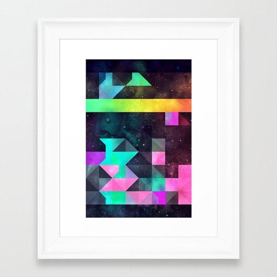 hyppy f'xn rysylyxxn Framed Art Print