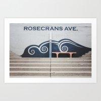 Rosecrans Avenue Art Print