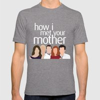 How I Met Your Mother Mens Fitted Tee Tri-Grey SMALL
