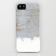 Painting on Raw Concrete iPhone SE Slim Case