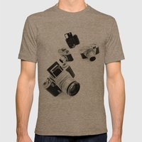 Cameras Mens Fitted Tee Tri-Coffee SMALL