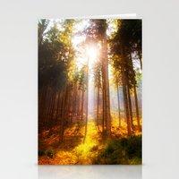 Sunshine Forest Stationery Cards
