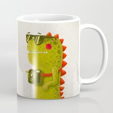 Dino touristo (olive) Mug