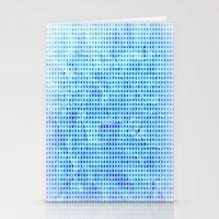 Pale Blue Dots Stationery Cards