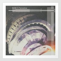 Base 5-Terrestrial  Art Print