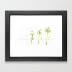 Revive the forest Framed Art Print