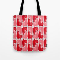MCM Doves In Pink Tote Bag