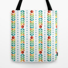 Simple flower Pattern Tote Bag