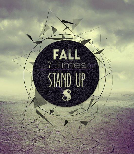 Fall 7 Stand 8 Art Print