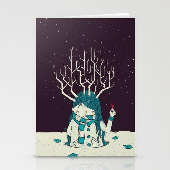 Warm Stationery Card