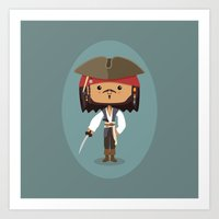 The Black Pearl Art Print