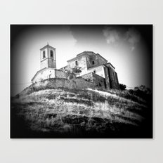 Spanish Iglesia Canvas Print