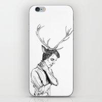 Stag Boy iPhone & iPod Skin