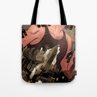Escape From New York Poster Tote Bag