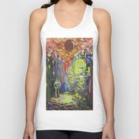 Loneliness Under The Str… Unisex Tank Top