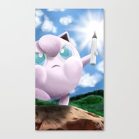 Canvas Print featuring Draw by DsgnrTyler