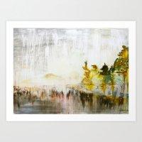 Muskoka Rain  Art Print
