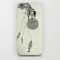 iPhone Cases featuring April | Collage by Ju. Ulvoas