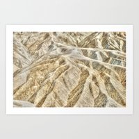 Death Valley desert Art Print
