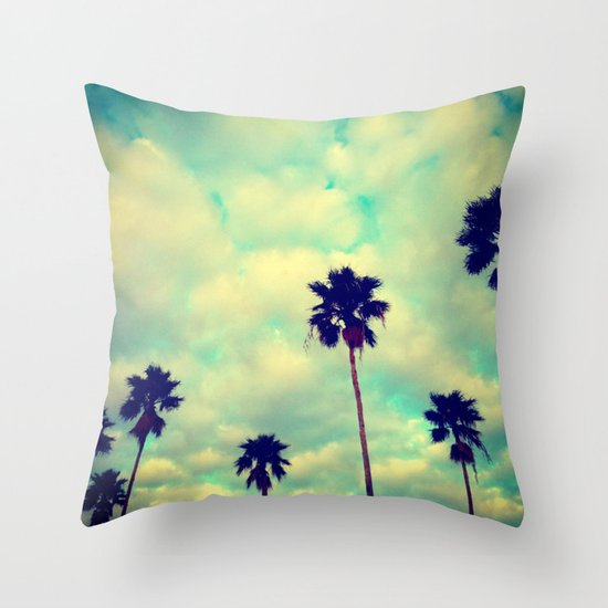 More Palms Throw Pillow