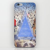 Through the Clouds iPhone & iPod Skin