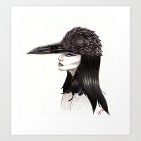 The Masquerade:  The Cro… Art Print