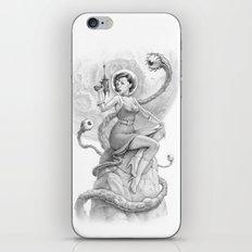 Astro Babe B&W iPhone & iPod Skin