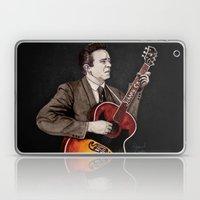 Johnny Cash Laptop & iPad Skin