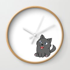 Moon Moon Wall Clock
