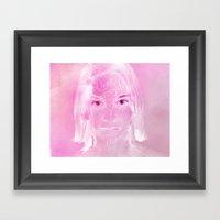 Don't Forget Me Framed Art Print