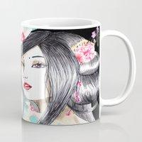 Geisha Glance Mug