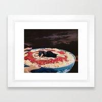 HELP YOURSELF Framed Art Print