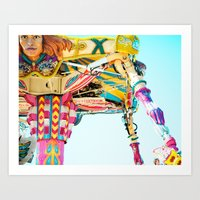 Love A Fair . . . The Fi… Art Print