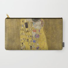 The Kiss by Gustav Klimt Carry-All Pouch