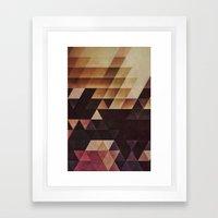 T Tyxxnyyk Framed Art Print