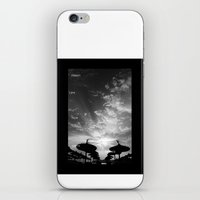 Sky  Explosion iPhone & iPod Skin