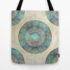 Moon Mandala Tote Bag