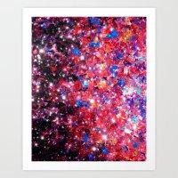 WRAPPED IN STARLIGHT Bol… Art Print