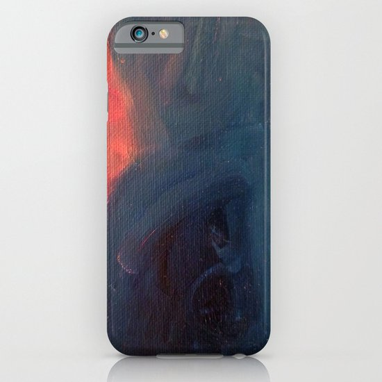 Angry Mountain / Female Figure iPhone & iPod Case