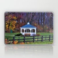 White Gazebo Laptop & iPad Skin