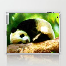 Baby Panda Resting - Painting Style Laptop & iPad Skin